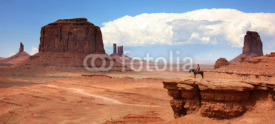 Naklejki USA - Monument valley