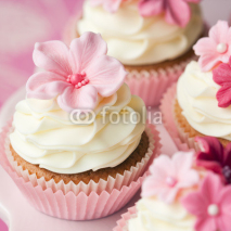 Fototapety Flower cupcakes