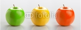 Fototapety Set of three apples
