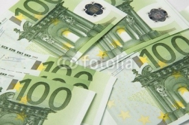 Fototapety hundred-euro bills, paper money