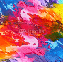 Naklejki Abstract acrylic hand painted background