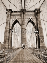 Fototapety the brooklyn bridge