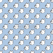french bulldog vector seamless pattern background