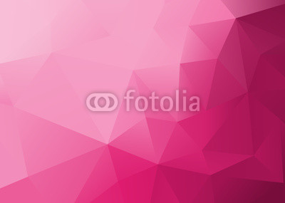 Abstract Low Poly Pink Background
