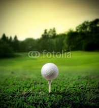 Fototapety Golf court