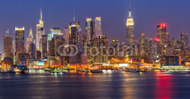 Obrazy i plakaty Manhattan at night