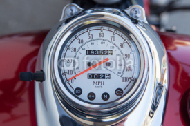 Naklejki speedometer motorcycle bike