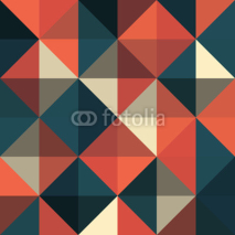 Naklejki A retro geometric vector pattern
