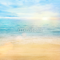 Naklejki Sea and sand background