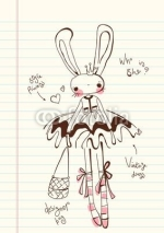 Fototapety Cute Princess Bunny