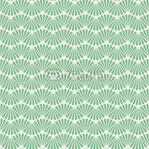 Naklejki Seamless Art Deco Pattern Texture Wallpaper Background