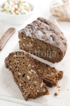 Naklejki rye bread with seeds