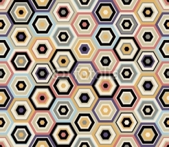 Fototapety seamless hexagon pattern