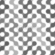Fototapety Vector geometric pattern of circles.