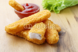 Fototapety fish sticks