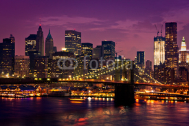 Obrazy i plakaty New-York pont de Brooklyn