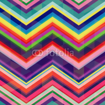 Fototapety seamless retro zig zag background