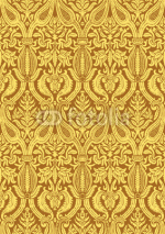 Naklejki Vector seamless floral damask pattern vintage abstract backgroun