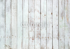 Naklejki Black and white background of wooden plank