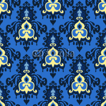 Naklejki Seamless vector ornamental pattern venetian