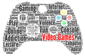 Obrazy i plakaty Video games word cloud