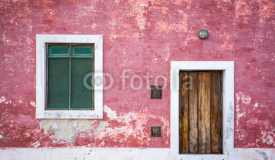 Facade of old colonial building on Island of Mozambique