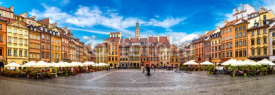 Fototapety Old town square in Warsaw