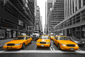 Obrazy i plakaty TYellow taxis in New York City, USA.