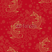 Fototapety Chinese vector seamless pattern