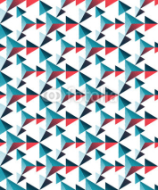 Fototapety Seamless three-dimensional pattern of triangles. Geometric texture.