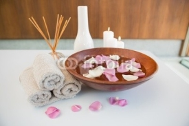 Obrazy i plakaty Towels and other spa objects