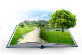 Fototapety book of nature