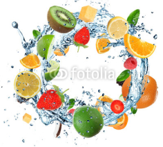 Fototapety Fruit in water ring