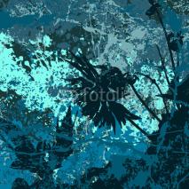 Fototapety Grunge vector background in blue