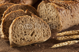 Fototapety Fresh Homemade Whole Wheat Bread