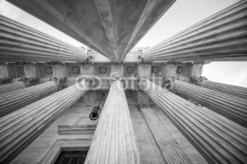 Fototapety Columns at the U.S. Supreme Court