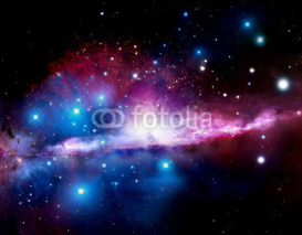 Obrazy i plakaty Illustration of a nebula