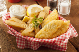 Fototapety Traditional Fish and Chips