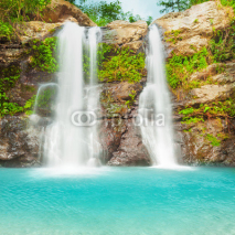 Fototapety Beautiful waterfall