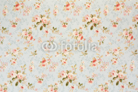 Obrazy i plakaty Rose floral tapestry, romantic texture background