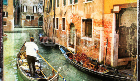 Romantic Venice, artistic picture