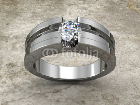 Fototapety Diamonds ring