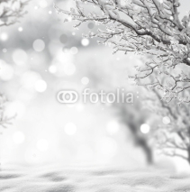 Naklejki winter background