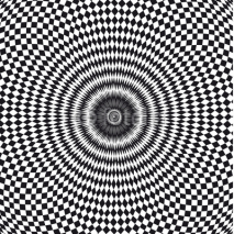 Naklejki vecteur, illusion d'optique