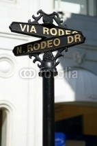 Obrazy i plakaty Rodeo Drive Sign