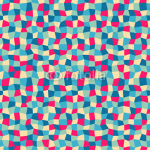 Naklejki Seamless abstract geometric pattern