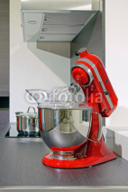 Fototapety robot culinaire rouge  # 23