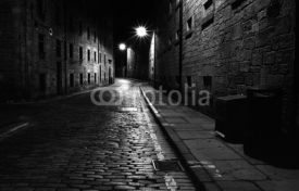 Naklejki streets of edinburgh 04