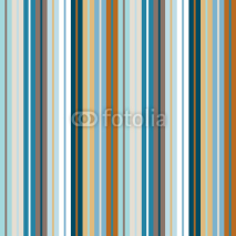 Naklejki Seamless Pattern Wide/Narrow Stripes Retro