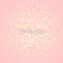 Obrazy i plakaty Abstract pink seamless pattern. Vector illustration.